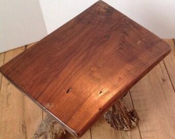 Black walnut stool/plant stand