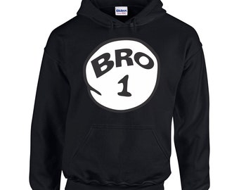 Bro number 1 Men's Fashion Hoodie