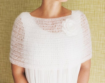 Bridal Cape of Mohair
