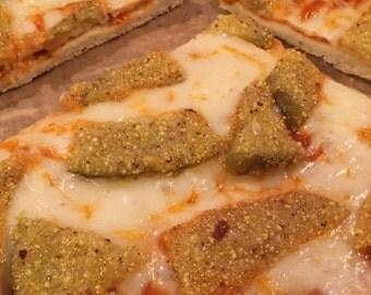 Gluten Free Eggplant Parmigiana Pizza