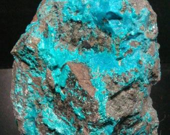 The Peru blue chrysocolla