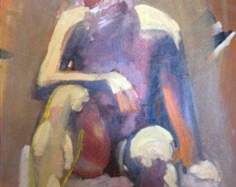 Study of a Sitting Woman