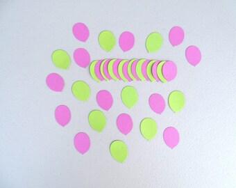 Paper balloon die cuts set of 50 - Scrapbook embellishments - Balloon confetti - Balloon cut outs - Paper balloon embellishments - Balloons