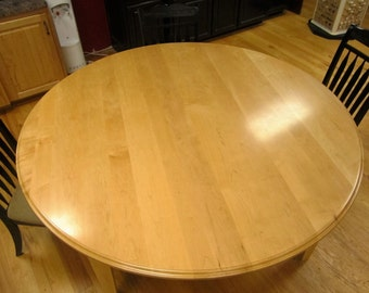 Maple 6ft round Dining Table