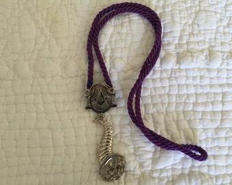 Masonic pendant.