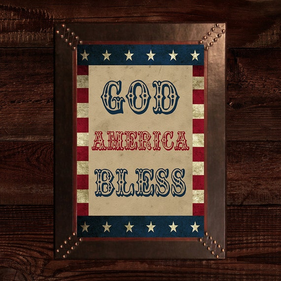 Americana Wall Decor