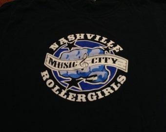 Nashville Roller derby shirt - LG