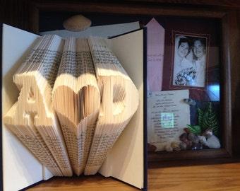 Folded Book - Initial Love
