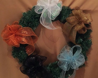 DECO BOWS MEDIUM Size 8x8 10 Colors To Accommodate Any Event Type Of Theme