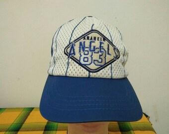 Rare Vintage ANAHEIM ANGELS Cap Hat Free size fit all