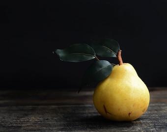 Kitchen Pear Print