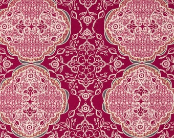 Lacis Spiceberry  - Lilly Blle - HALF YARD - Art Gallery Fabric - Cotton Fabric - Quilting Fabric