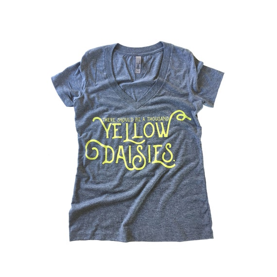 A Thousand Yellow Daisies Shirt | Gilmore Girls Gift Guide