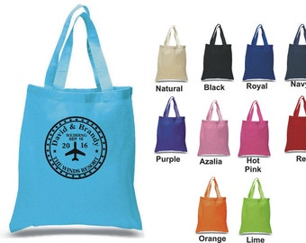 Custom Wedding Tote bag 100% cotton