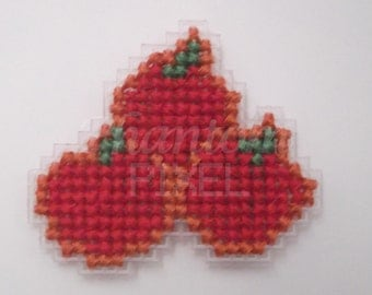 My Little Pony Cutie Mark Cross Stitched Badges