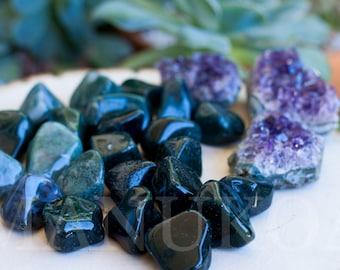 Moss Agate Specimen   Moss Agate Tumbled Stone   Healing Stones   Healing Crystals   Crystal Specimen