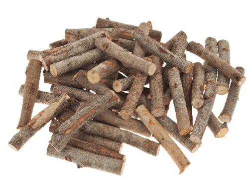 EUCALYPTUS WOOD BRIQUETTES diam. 15/25 mm length approx 80 mm-approximately 50 pieces