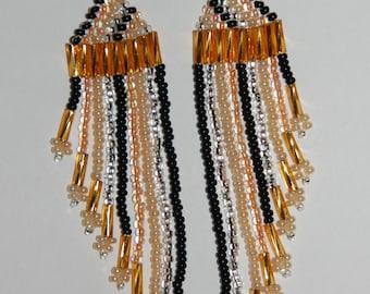 Flapper Fringe Earrings
