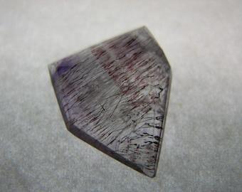 Rutilated Amethyst Gemstone