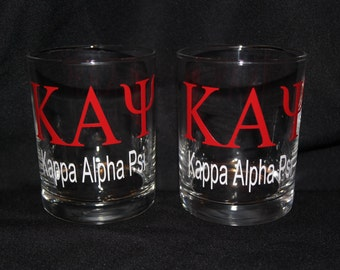 Kappa Alpha Psi Glasses