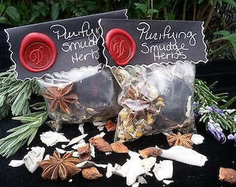 Purification Smudge Herbs-Wicca-Pagan-Hoodoo-Native American-Spirituality-Witchcraft