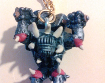 Monstrous Knight Necklace
