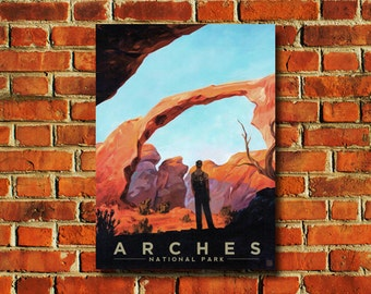Arches National Park Poster - #0826