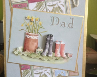 On Your Special Day - Handmade Fathers Day Card