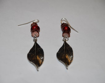 Earrings- handmade boro beads