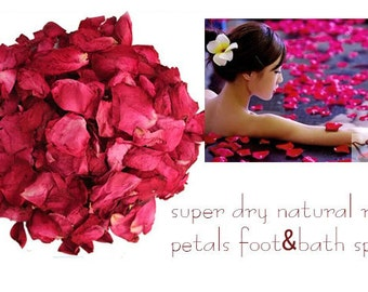 Real Red Rose Petals ~ Air Dried ~ 200g