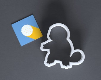 Squirtle cookie cutter, Pokemon cookie cutter, Pokemon GO cookie cutter