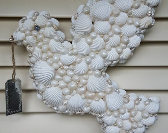 White Dove of shells