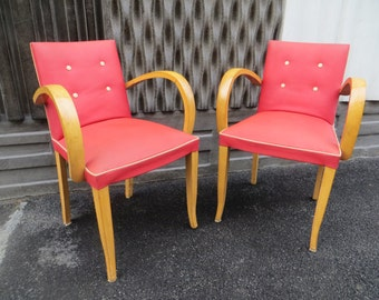 Pair of chairs 50s vintage