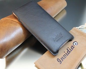 Huawei Mate S Genuine Leather Handmade sleeve pouch case 100% made in italy.