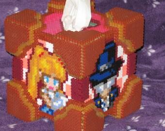 Sailor Moon Tuxedo Mask perler tissue box