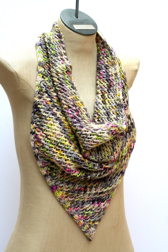 Infinity Scarf Triangle Patterns Patterns Kid