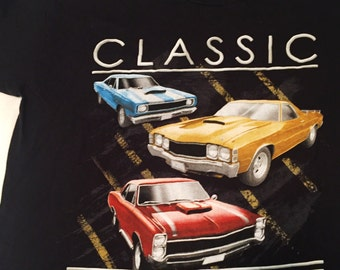 Classic muscle car shirt