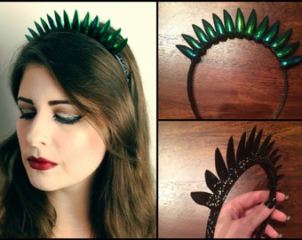 Beetle Wing Hairband