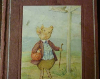 Beatrix Potter. Book.First Edition. The Tale of Pigling Bland. 1913. First Edition.
