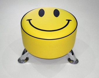 Smiley footstool