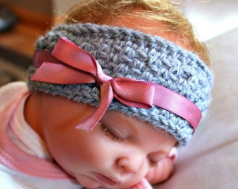 Crochet baby Ear Warmer