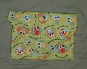 Reusable Sandwich Wrap - owl