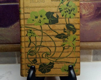 Robert Louis Stevenson, Treasure Island, Beautiful Antique Copy Published by Henry Altemus (early 1900's)