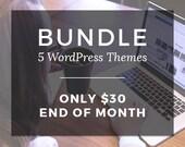 Bundle 5 wordpress blog theme - wordpress - wordpress theme - responsive wordpress theme - wordpress templates blog - theme wordpress design