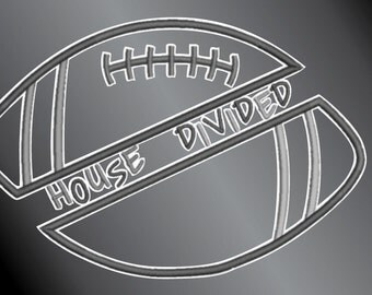 House Divided Vinyl Decal Sticker