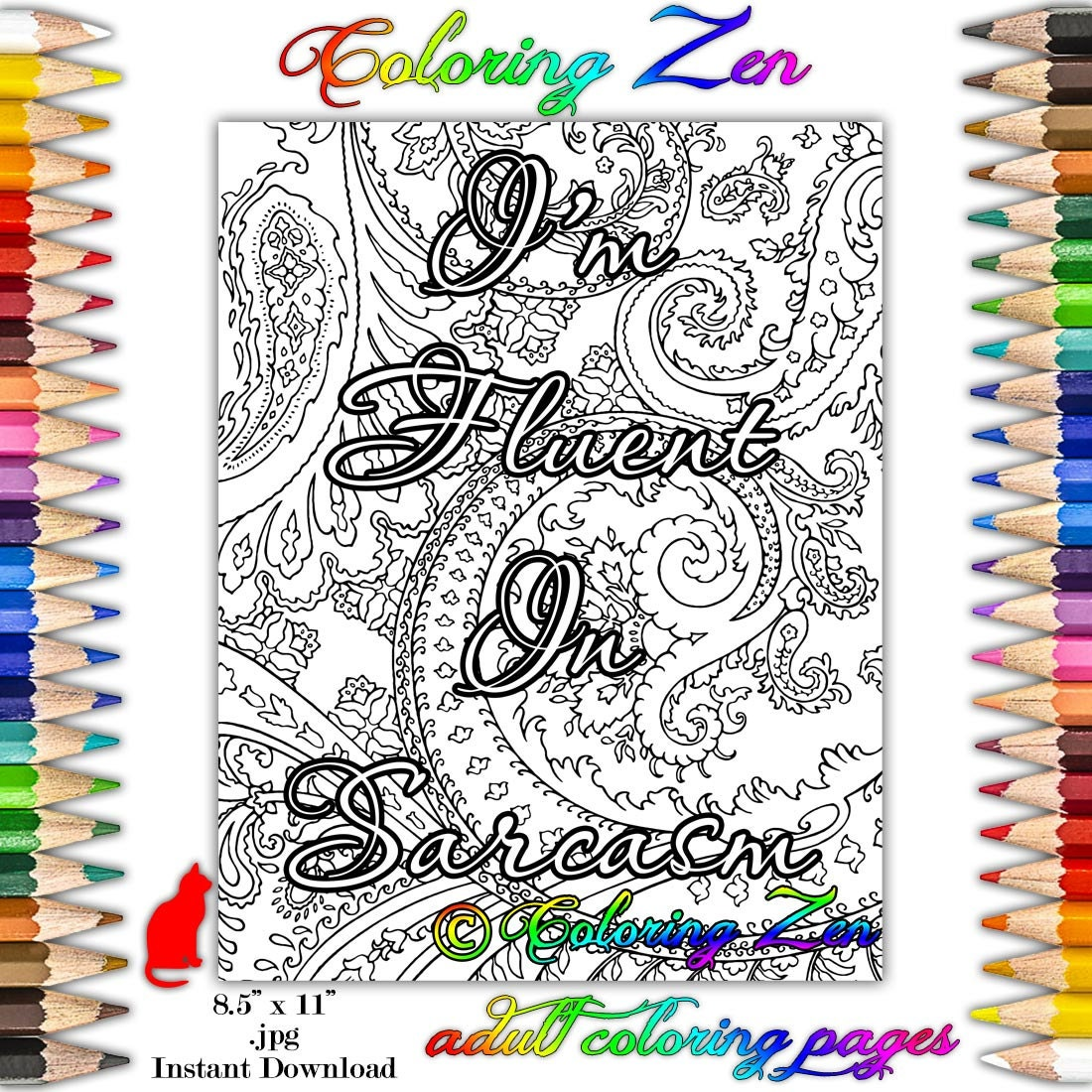 83 Coloring Pages For Adults Stress Relief