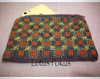 cross stitch wallet