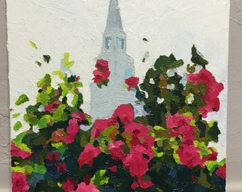 Lds temple painting