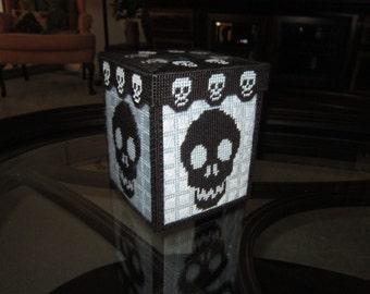 Skull Tissue Box Cover