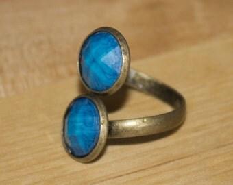 Ring Blue Tortoiseshell